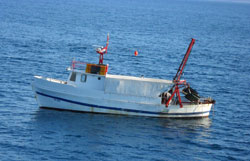 Trawler - a fishing boat used for trawling