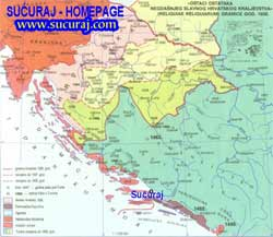 Sucuraj between three countries