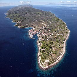 Sucuraj - east cape of the island of Hvar, Croatia