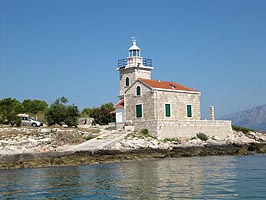 East cape of the island of Hvar - lighthouse Sucuraj