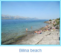 Bilina beach - photos